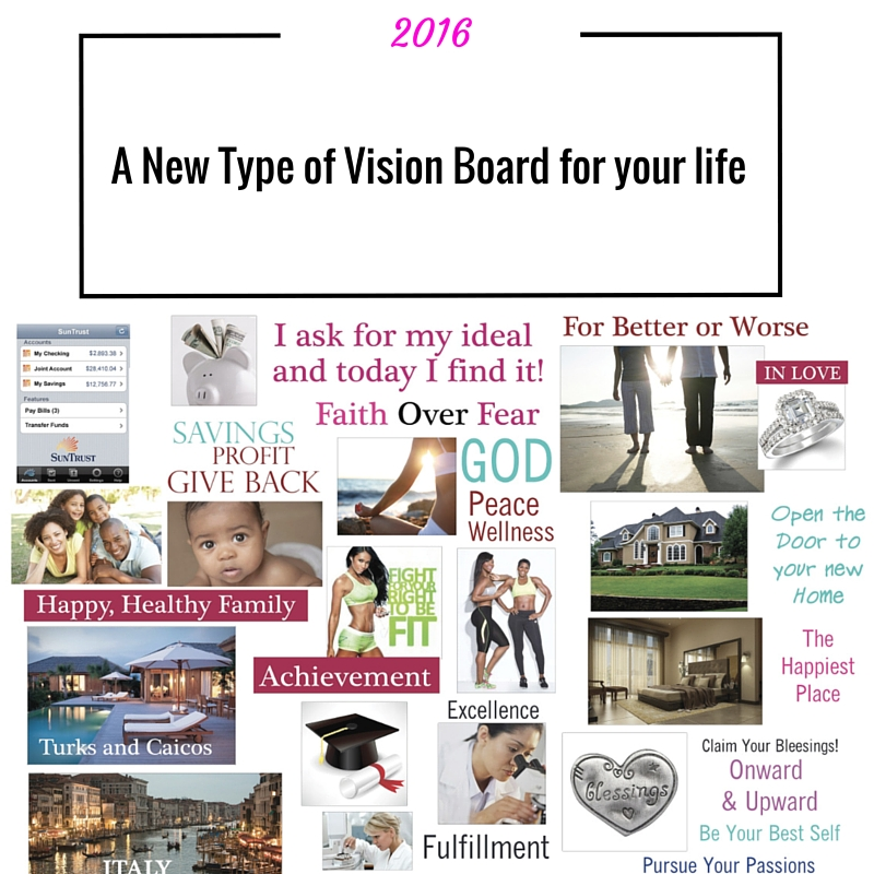 A New Type of Vision Board